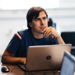 imbert tijdens python voor data science training