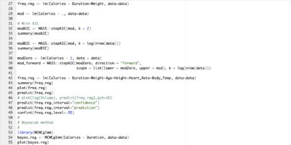Een schermafbeelding van Wat is een R script